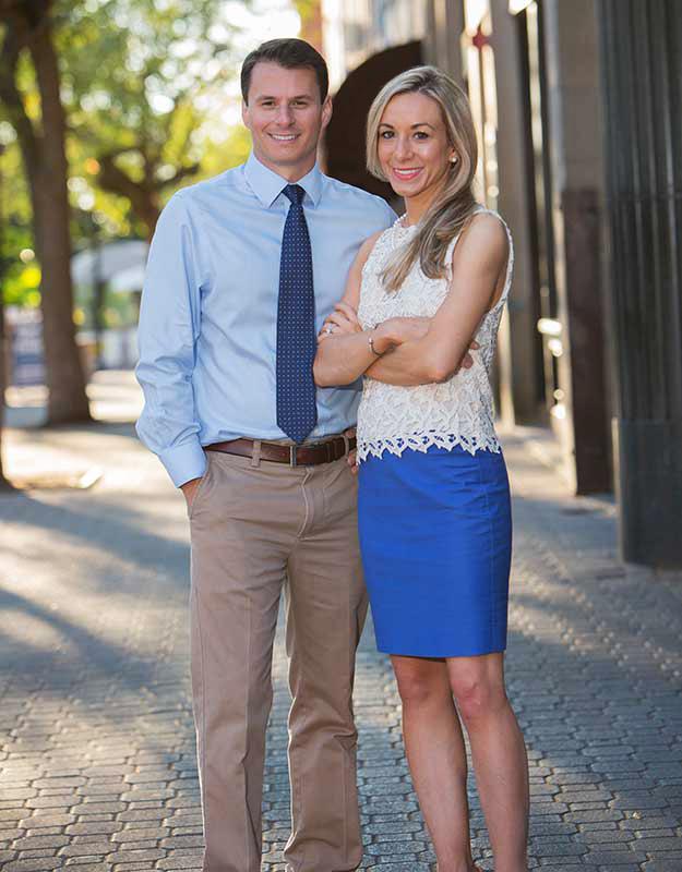 Montclair NJ Orthodontist Dr Jacy and Ariana Papasikos